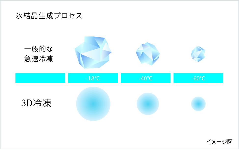 氷結晶生成プロセス